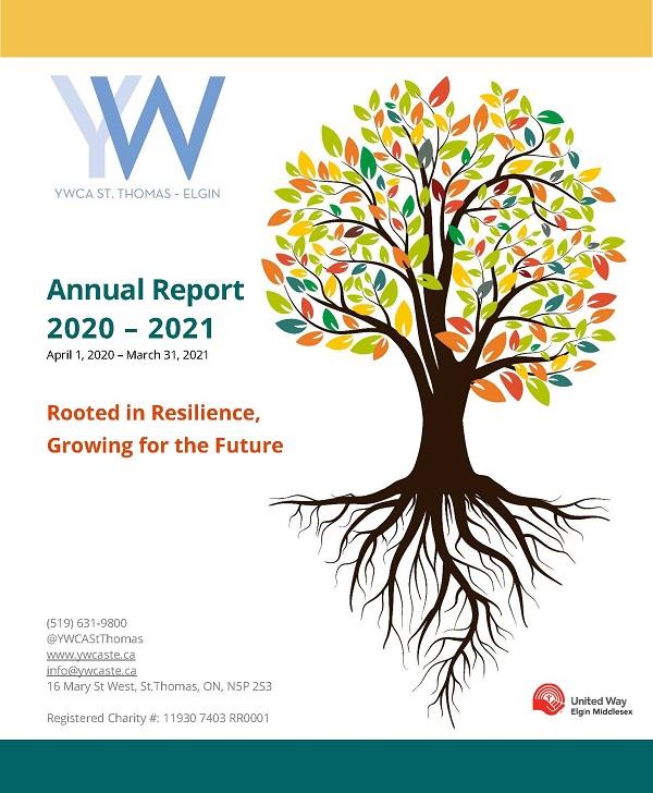YWCA St.Thomas-Elgin Annual Report 2020-2021